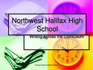 Northwest Halifax High School