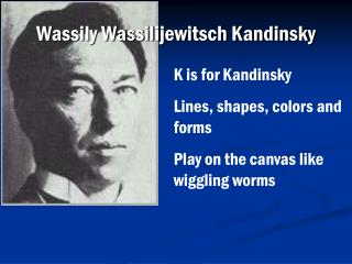 Wassily Wassilijewitsch Kandinsky