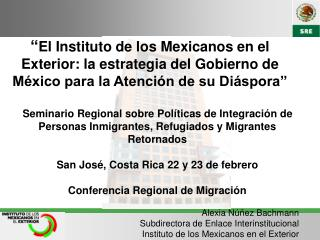 La diáspora mexicana es la tercera más numerosa en el mundo, después de China y la India.