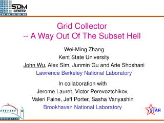 Grid Collector -- A Way Out Of The Subset Hell