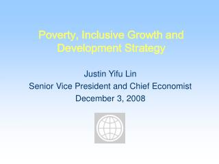 Poverty, Inclusive Growth and Development Strategy
