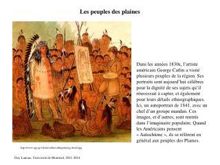 Les peuples des plaines