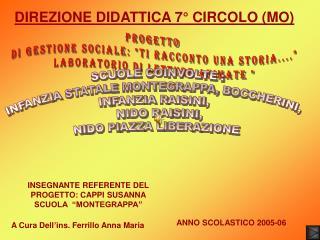DIREZIONE DIDATTICA 7� CIRCOLO (MO)