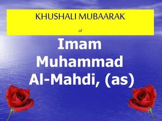 KHUSHALI MUBAARAK of