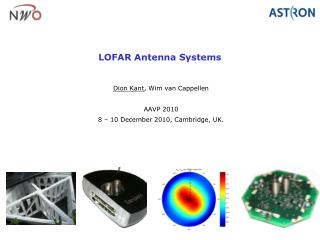 LOFAR Antenna Systems