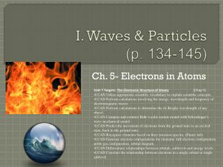 I. Waves & Particles (p.  134-145)