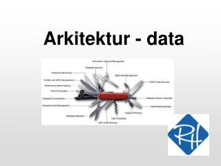 Arkitektur - data