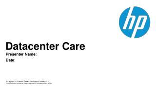 Datacenter  Care