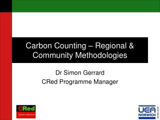 Carbon Counting – Regional & Community Methodologies