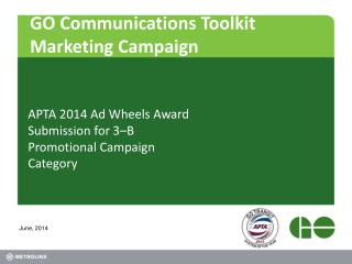 GO Communications Toolkit Marketing Campaign