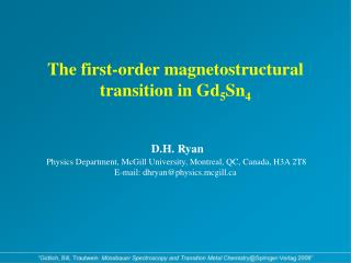 Unfortunately, the method of choice for the study of magnetic and crystal structures