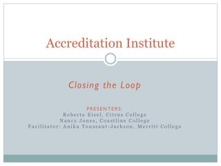 Accreditation Institute