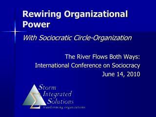 Rewiring Organizational Power
