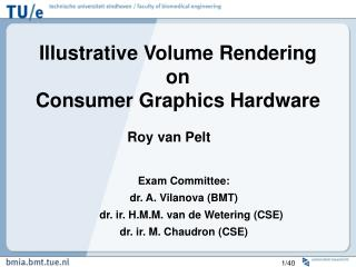 Illustrative Volume Rendering on Consumer Graphics Hardware