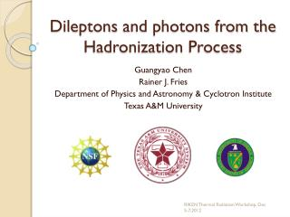 Dileptons  and photons from the  Hadronization  Process