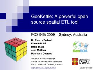 GeoKettle: A powerful open source spatial ETL tool