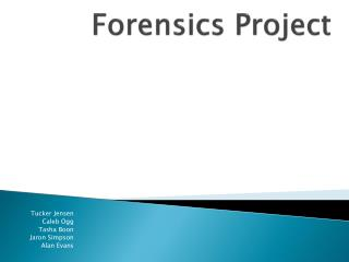 Forensics Project