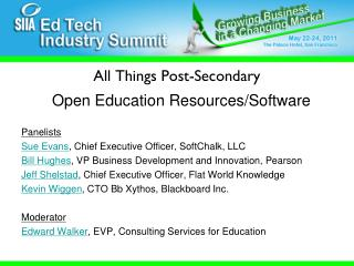 All Things Post-Secondary
