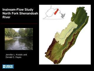Instream-Flow Study North Fork Shenandoah River