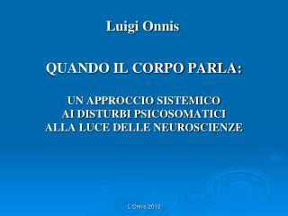 Luigi Onnis