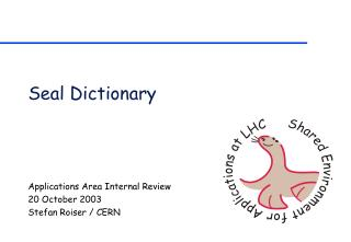 Seal Dictionary