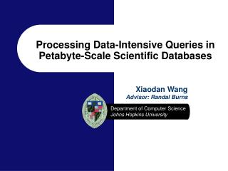 Processing Data-Intensive Queries in Petabyte-Scale Scientific Databases