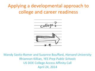Mandy Savitz-Romer and Suzanne Bouffard,  Harvard University