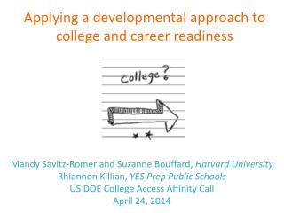 Mandy Savitz-Romer and Suzanne Bouffard,  Harvard University