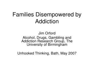 Prevalence study gambling addiction