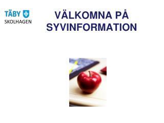 V�LKOMNA P�  SYVINFORMATION