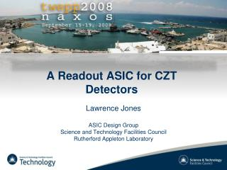A Readout ASIC for CZT Detectors