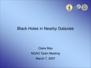 Black Holes in Nearby Galaxies