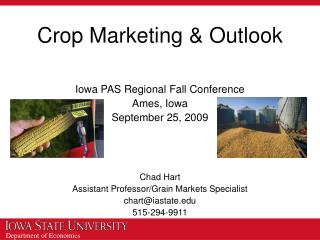 Crop Marketing & Outlook