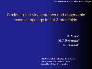 Circles-in-the-sky searches and observable cosmic topology in flat 3-manifolds