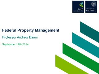 Federal Property Management