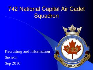 742 National Capital Air Cadet Squadron