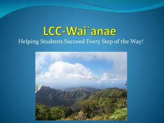 LCC- Wai`anae