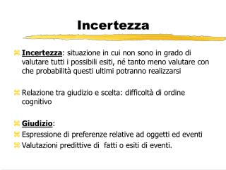 Incertezza