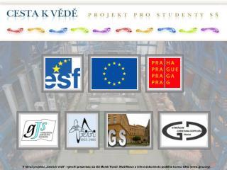 zapojení studentů středních škol do vědecké činnosti probíhající na FJFI ČVUT