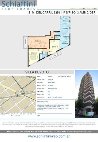 JOSE CUBAS 3291   CIUDAD AUT.DE BS.AS.ARGENTINA  TEL:4574-4967  e-mail: info@schiaffiniweb.ar
