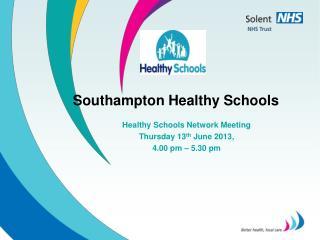 Southampton Healthy Schools
