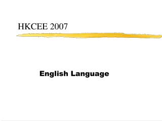 HKCEE 2007