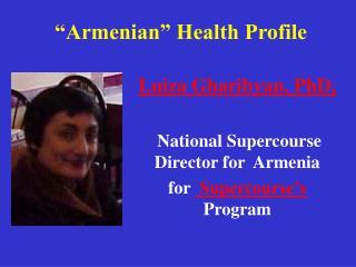 """Armenian"" Health Profile"