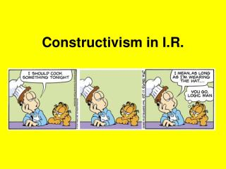 Constructivism in I.R.