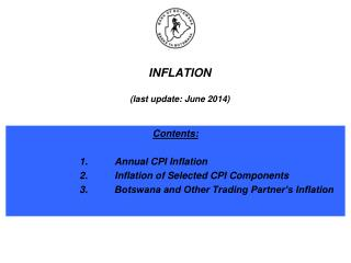 INFLATION (last update: June 2014)