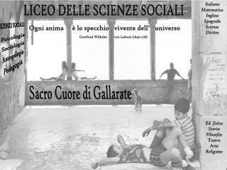 LICEO DELLE SCIENZE SOCIALI