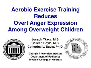 Aerobic Exercise Training Reduces  Overt Anger Expression Among Overweight Children