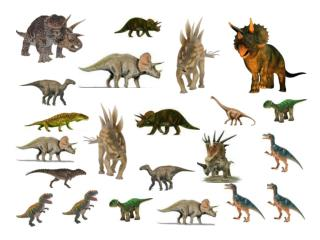 How many dinosaurs?