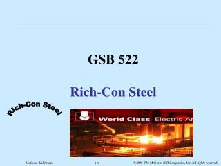 GSB 522 Rich-Con Steel