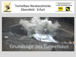 Grundz�ge des Tunnelbaus